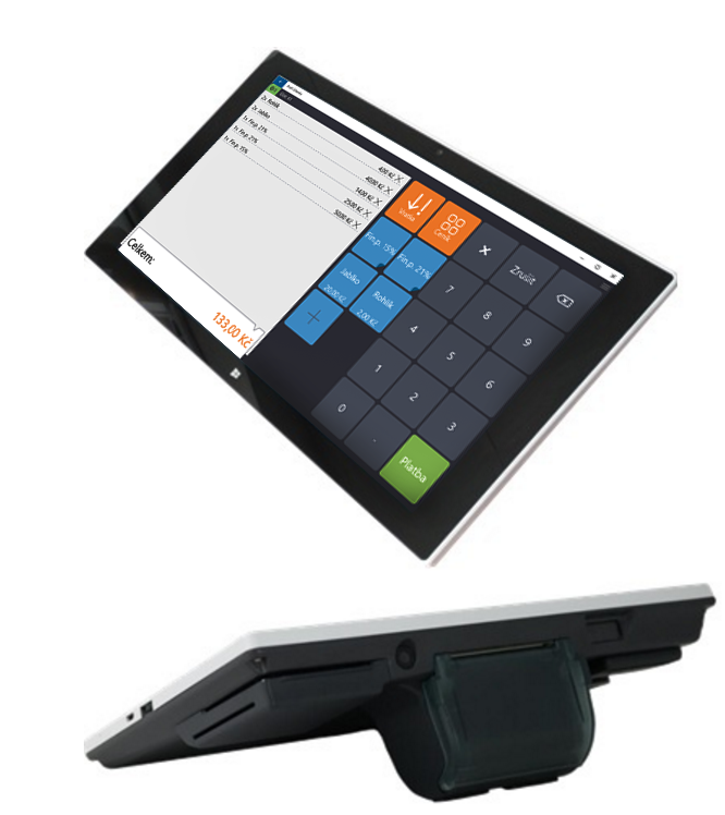 Rozvážíte zboží zákazníkům? S pokladnou OKTAB elektronickou evidenci snadno zvládnete.