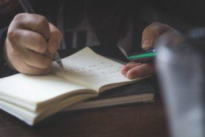 ruční psaní