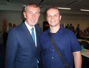 Zdeněk Palla a Andrej Babiš