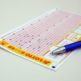 tiket do loterie