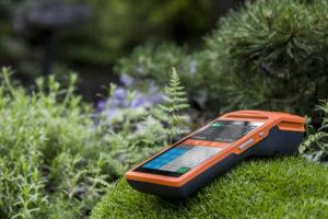 Díky velké výdrži baterie je pokladna ProfiPAD je vhodná například na trhy.