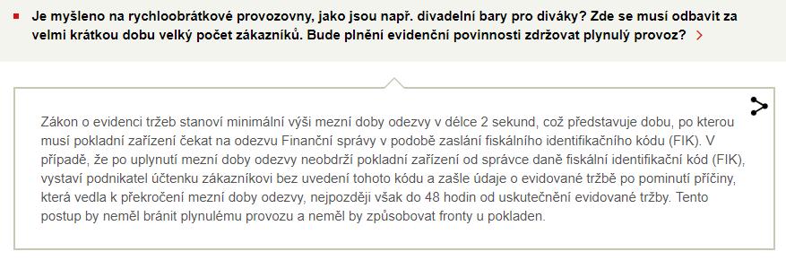 informace z webu finanční správy