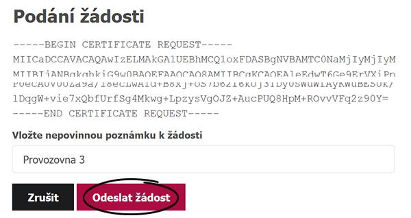 screen z Daňového portálu